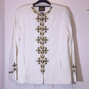 Bob Mackie Wearable Art embroidered jacket